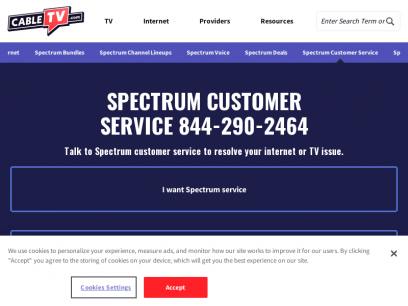Spectrum Customer Service 1-855-855-4575 & Phone Number