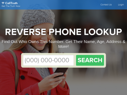 Reverse Phone Lookup, Phone Search, Find Phone Number, People Search, or Background Check