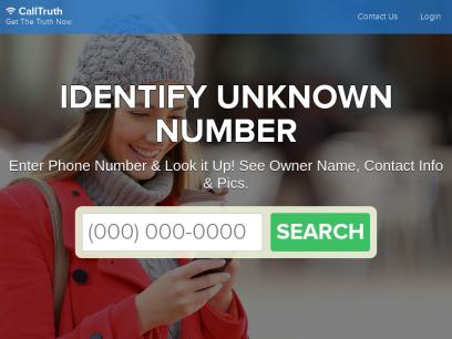 Identify Unknown Number