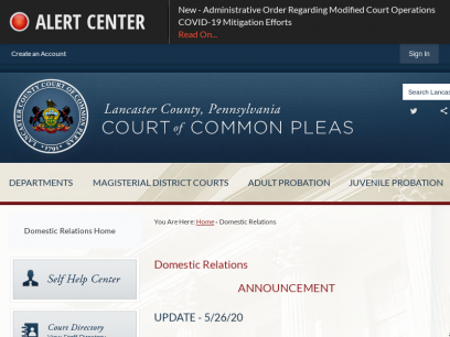 Domestic Relations   Lancaster County Courts, PA - Official Website