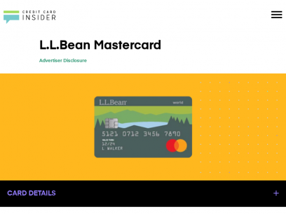L.L.Bean® Mastercard® - Info & Reviews - Credit Card Insider