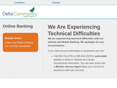 Home Page - Delta Community Credit Union