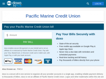 Pacific Marine Credit Union (PMCU) | Pay Your Bill Online | doxo.com