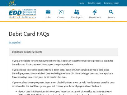Debit Card FAQs