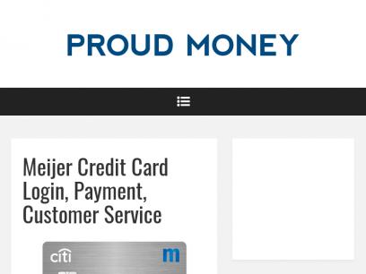 Meijer Credit Card Login, Payment, Customer Service – Proud Money
