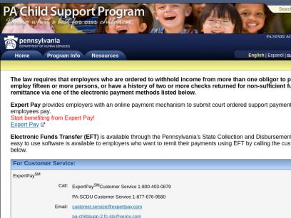 Pennsylvania Child Support Program