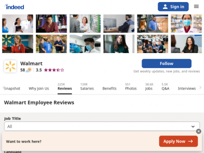 Working at Walmart: 225,023 Reviews | Indeed.com