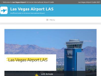 Las Vegas Airport   McCarran International Airport USA