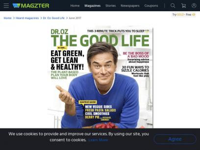 Dr. Oz Good Life Magazine - Get your Digital Subscription