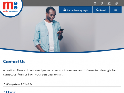 Contact Us - Meijer Credit Union