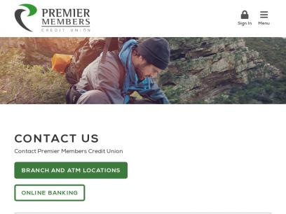 Contact Premier Members Credit Union