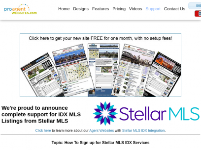 IDX MLS Listings for Stellar MLS