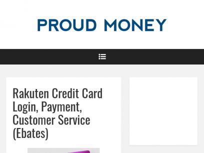 Rakuten Credit Card Login, Payment, Customer Service (Ebates) – Proud Money