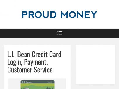 L.L. Bean Credit Card Login, Payment, Customer Service – Proud Money