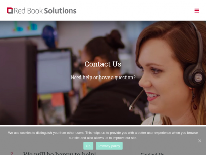 Contact Us - Red Book Solutions