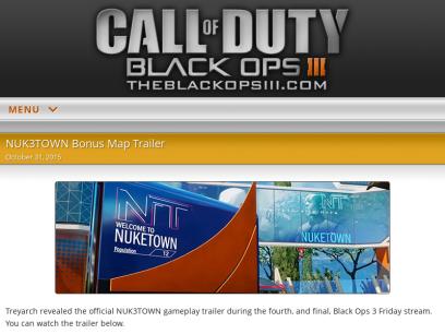 Call of Duty: Black Ops 3 III | COD: BO3