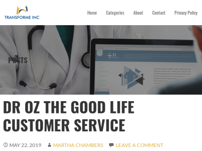 Service The Good Customer Dr Oz Life