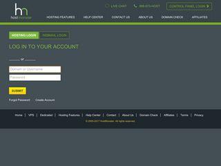 Secure cPanel/Webmail Login - Hostmonster