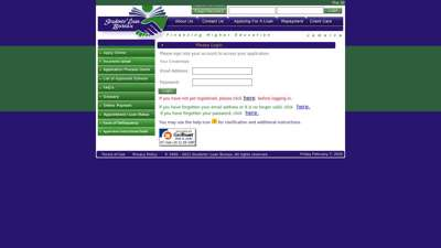 Secure Login - Students' Loan Bureau Jamaica  SLB Online
