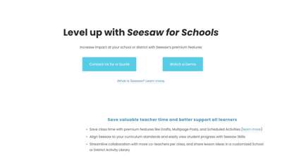 Seesaw for Schools