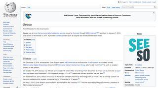 Seeso - Wikipedia