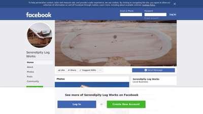Serendipity Log Works - Home  Facebook