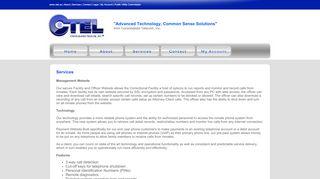 Services - CTEL - Consolidated Telecom, Inc.