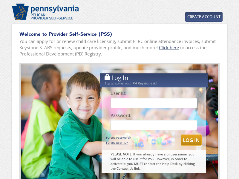 Services for Providers in Pennsylvania - pelican.state.pa.us