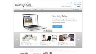 SharperAgent: Real Estate Marketing