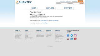 Shentel (Shentel .net) please call us at 1-866-668-0171