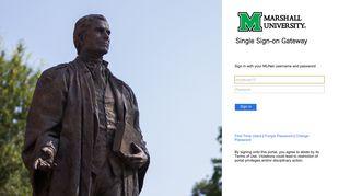Sign In - Marshall University
