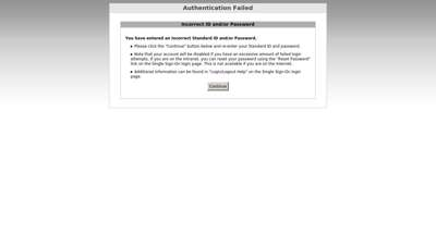 Single Sign-On Password Services