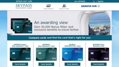 SKYPASS Visa Credit Card - Korean Air