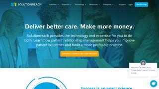 Solutionreach - Total Patient Relationship Management