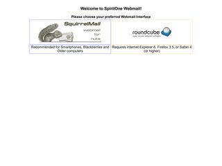 SpiritOne Webmail