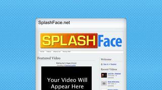 SplashFace.net: Home
