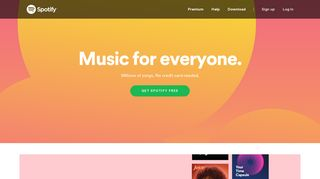 Spotify: Music for everyone