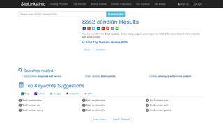 Sss2 ceridian Results For Websites Listing - SiteLinks.Info