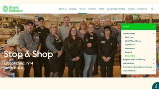 Stop & Shop   Ahold Delhaize
