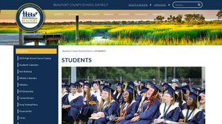 STUDENTS - Beaufort County School District