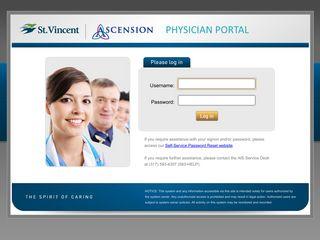 St.Vincent Physician Portal