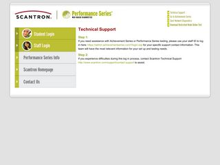Technical Support - Performance Series