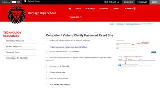 Technology Resources / Password Reset - Loudoun County ...