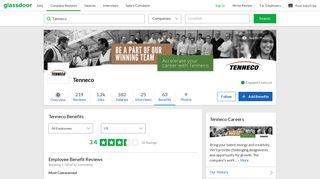 Tenneco Employee Benefits and Perks  Glassdoor