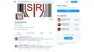 The Slave Register (@SlaveRegister) | Twitter