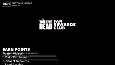 The Walking Dead Fan Rewards Club