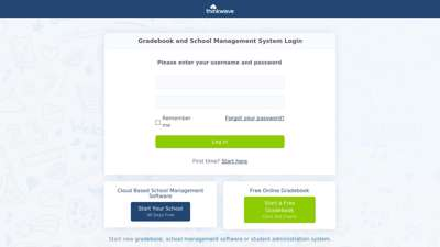 ThinkWave  Gradebook and School Management System