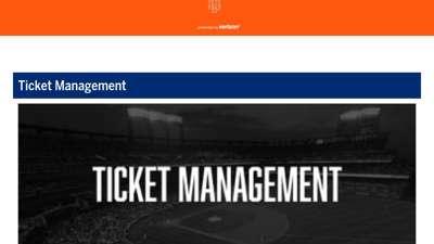 Ticket Management  New York Mets