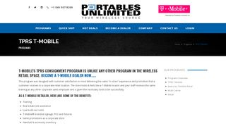 TPRS T-Mobile - Portables Unlimited Inc.