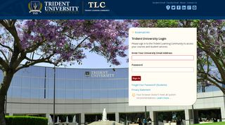 Trident University Portal